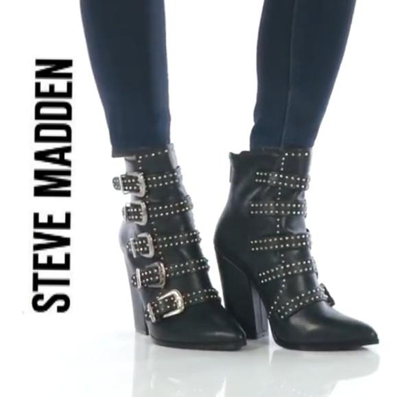 c459e0b4d71 Eddy Steve Madden Ankle Boots NWT
